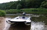 Liya 3.35-4.3mの膨脹可能な高速ボートのカタマランの膨脹可能なボート
