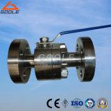 Getto o valvola a sfera d'acciaio forgiata di galleggiamento (GAQ41F)
