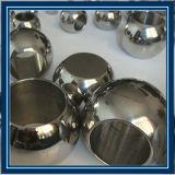 La bola de acero hueco sólido/con el agujero, Bola de acero inoxidable perforado para la joyería o decoración