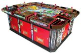 Igs 100% ursprüngliche Donner-Drache-Fisch-Hunter-Säulengang-Spiel-Maschine
