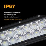 Barre 4X4 d'éclairage LED de 3D incurvée par vente en gros 240W 42inch 12V 24V