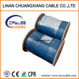 Câble LAN de réseau UTP Cat5e d'intérieur