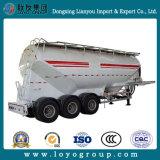 Del cemento del transporte del petrolero acoplado a granel semi para la venta