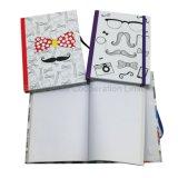 Жесткий футляр A5 школа дневник с эластичной лентой, канцелярские принадлежности для ноутбуков
