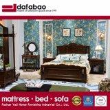 침실 사용 (AS821B)를 위한 미국식 Wau 너도밤나무 단단한 나무 침대