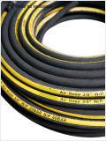 De kleurrijke Textiel Gevlechte Flexibele Slang van de Slang van de Lucht Rubber