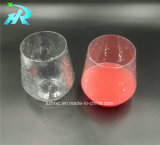 vidros de vinho plásticos de Mikasa Riedel do animal de estimação 12oz sem hastes