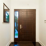 Double Luxurious Breaking Solid Wooden Door