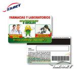 Cmyk Offsetdrucken-Mitgliedskarte mit magnetischem Streifen