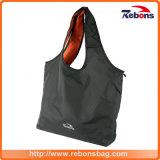 黒い昇進の習慣のRPETによってリサイクルされる女性買物をする戦闘状況表示板のハンド・バッグ