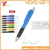 Stylo bille multicolore annonçant le crayon lecteur de bille en plastique pour les cadeaux promotionnels