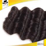 Глубокий Weave текстур волос 7A бразильских Remy