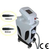 strumentazione del laser di rimozione del tatuaggio del ND YAG del laser di impulso di 1064nm 532nm & macchina passate Q lunghe professionali (MB1064)