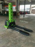 apilador eléctrico de la paleta de la elevación de carga y descarga del uno mismo del freno hidráulico 500kg
