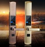 Fechamento de porta esperto biométrico da impressão digital da alta qualidade com punho