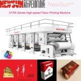 5つのカラーFlexoのペーパー印字機
