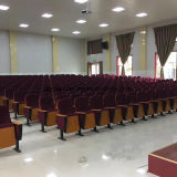 Roter Konferenz-Kirche-Stuhl Yj1601s