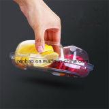 شفّافة واضحة [سوبرمكت] طعام/ثمرة يعبّئ صندوق/صينيّة
