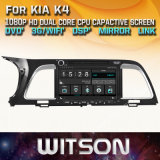KIA K4를 위한 Witson Windows Radio Stereo DVD Player