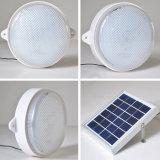 3W 9 LED 태양 LED 가벼운 벽 램프 천장 램프 태양 전지판 원격 제어 옥외 점화가 태양 도로 램프 복도에 의하여 점화한다