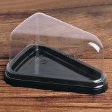 PVC PET/PP/PS/torta de pan de panadería Contenedor de plástico de embalaje ecológico/bandeja