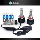 Faro tutto del Turbo LED in un kit H11 9005 9006 H1 H3 H7 contabilità elettromagnetica Canbus all'interno dell'indicatore luminoso automatico dell'automobile degli accessori LED dell'automobile della lampadina per golf 7 di VW