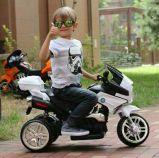El paseo en la motocicleta embroma el coche con pilas del juguete de los niños eléctricos del coche