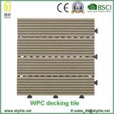 Telhas de assoalho compostas plásticas de madeira do Decking do fornecedor chinês