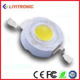 LED de alta potencia de 3W Blanco con el disipador de calor