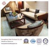 Het Chinese Meubilair van het Hotel met Houten Stof Drie Banken (yb-o-12)