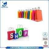 Bolso de compras colorido modificado para requisitos particulares de la talla estándar