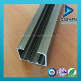 Profilo di alluminio di alluminio per la guida/guida della pista