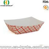 Bandeja del barco del papel de Kraft/bandeja de papel disponible del barco