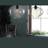 Ultra-Freies transparentes durchgebranntes Glas für hängende Lampe I073