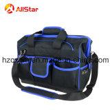 単一の肩ひもおよび堅いベースが付いている熱い販売ポリエステル道具袋
