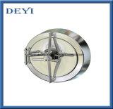 D450mmのステンレス鋼のハンドル圧力円のマンホールカバー