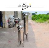 Type vertical l'eau/filtre de sac d'acier inoxydable de nourriture de jus