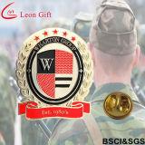 Pinza personalizada de la solapa de la insignia del metal del esmalte de la fábrica