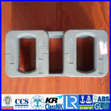 De dubbele Longitudinale Opgeheven Contactdoos van ISO