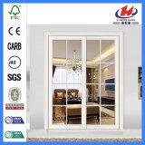 Lamellenförmig angeordnete Art-Übereinkunft-hölzerne Glastür (JHK-G18)