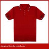Magliette del randello di polo del ricamo del commercio all'ingrosso della fabbrica dell'OEM per gli uomini (P08)