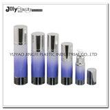 A extremidade de alto luxo personalizado de garrafas e frascos de plástico para produtos cosméticos