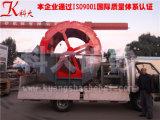 Tipo de parafuso de roda e planta de lavagem de Areia Móvel