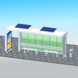 Muebles de exterior la energía solar la parada de autobús los proyectos de viviendas