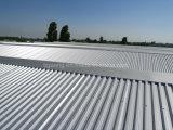 Material para techos acanalado del metal del Galvalume del palmo de Aluzinc de la hoja revestida larga de la azotea