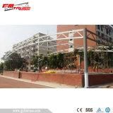 학교 운동장을%s 막 직물 지붕 닫집 구조