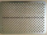 acoplamiento perforado galvanizado orificio del metal de 1m m