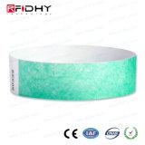 Iコードチップが付いている作業の許可のTyvek RFIDバンド