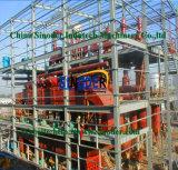 Миниый завод рафинадного завода сырой нефти от 1t/D-100t/D