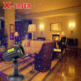 Романтический RGB при перемещении Star Firefly сад лазера на Рождество